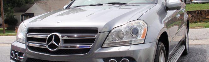 2010 Mercedes - Benz GL 450 PALLADIUMSILVER - METALLIC , asking price  $ 13125.00 **