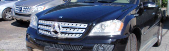 2007 Mercedes - Benz ML 500 , black with beige interior  , ** asking price $ 8955.00 **